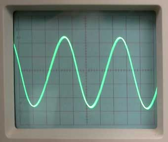 BF à l'oscilloscope