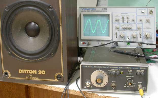 Oscilloscope software : Ça existe ? Montage